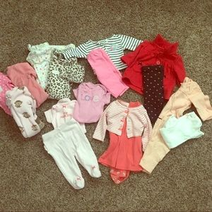 Fall/Winter Newborn Girl Bundle